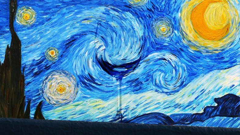 Wine Gogh articcio
